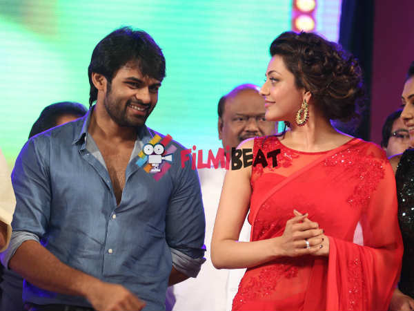 Sai-Kajal Bonding At GAV Music Release