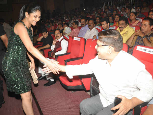 Aravind And Kamalinee At GAV Music Release