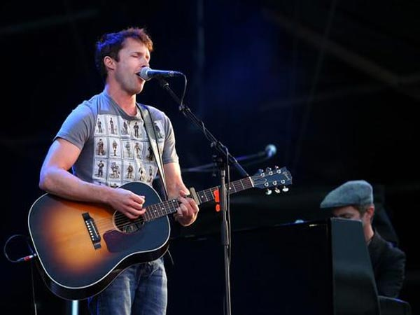 James Blunt Dedicates You're Beautiful To Prince Harry