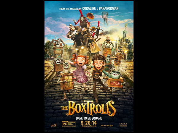 The Boxtrolls: Sept. 26, 2014
