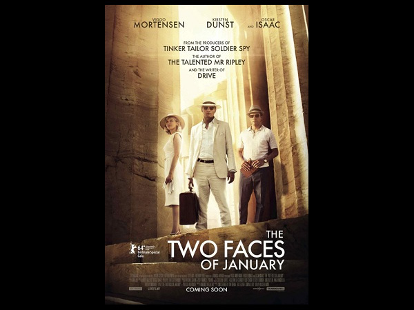 The Two Faces Of January: Sept. 26, 2014