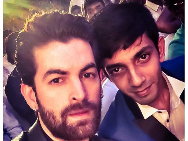 Anirudh Ravichander With Neil Nitin Mukesh