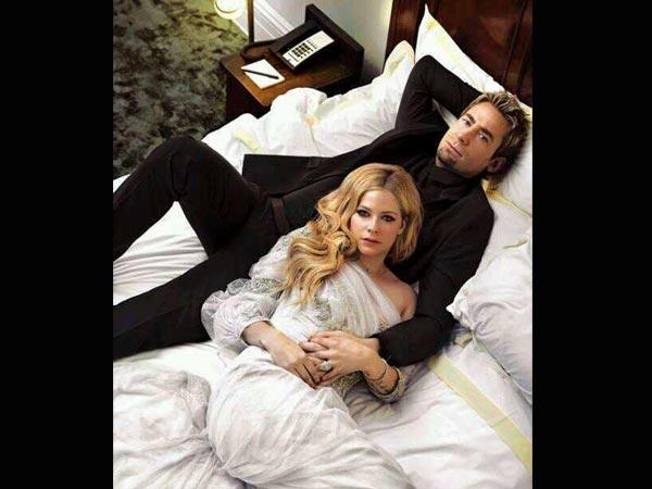 Sad News: Avril Lavigne U0026 Husband Chad Kroeger Are Heading For Split    Filmibeat