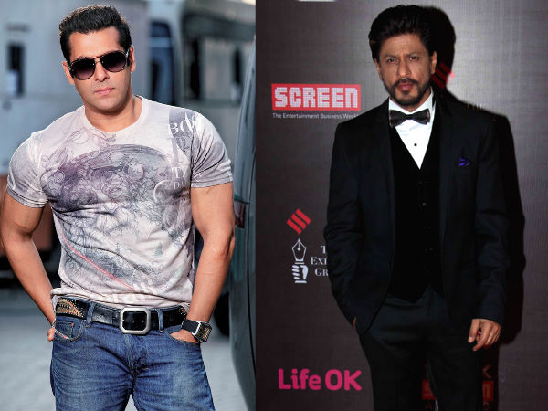 Salman Khan: Shahrukh Was Busy So They Called Me
