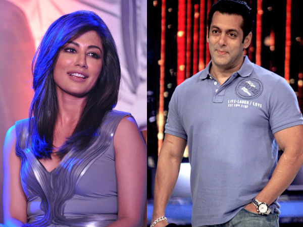 Salman Khan and Chitrangada Singh