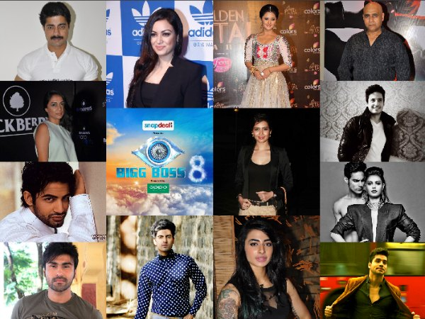 Bigg Boss 8: Leaked Names Of All Contestants