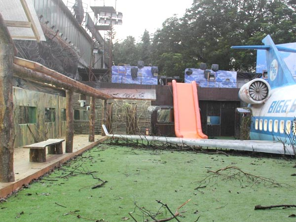 Bigg Boss Garden Area