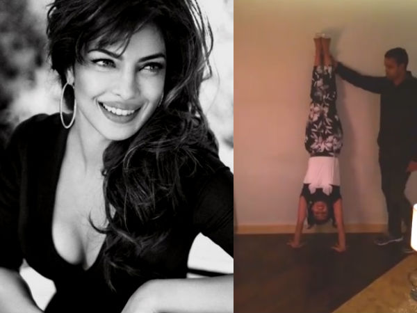 Priyanka Chopra Performs Hrithik's Bang Bang Dare In High Heels