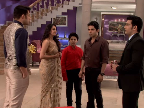Mihir Comes To Shagun's House