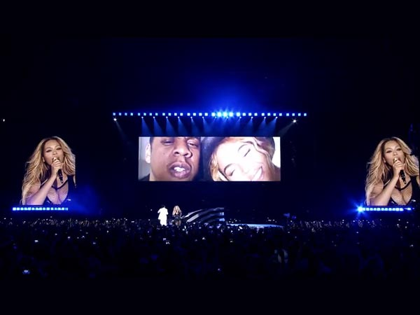 Beyonce, Jay Z Get Emotional, Shares An Exclusive Family Video On The Stage