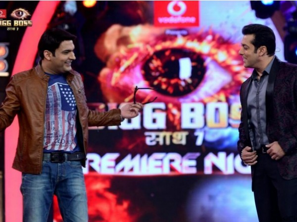 Salman Khan Feels Kapil Sharma Can Host Bigg Boss 8 Better?