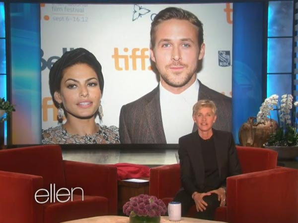 Ryan Gosling & Eva's Baby's First Pic Shown On Ellen Show