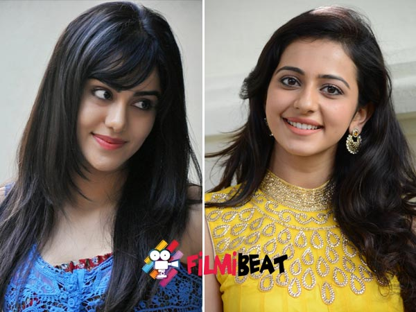 Adah Sharma, Rakul Preet Singh; Tollywood's Next Generation Girls.