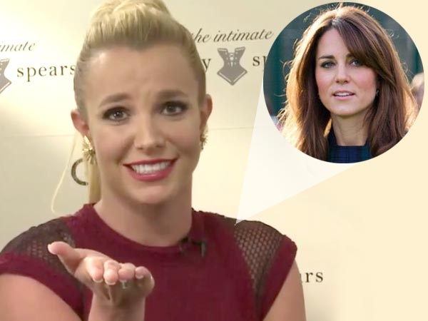 Britney Spears Wants Kate Middleton To Try Her Lingerie Line