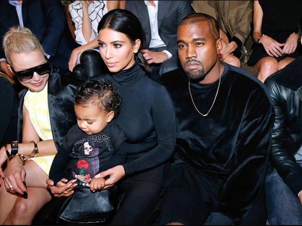 North West Attends Balenciaga's Show, Sits In Front Row