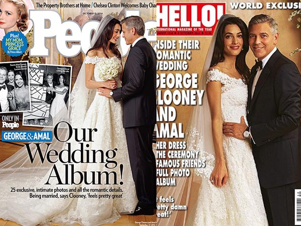 First Wedding Pics Of George Clooney And Amal Alamuddin