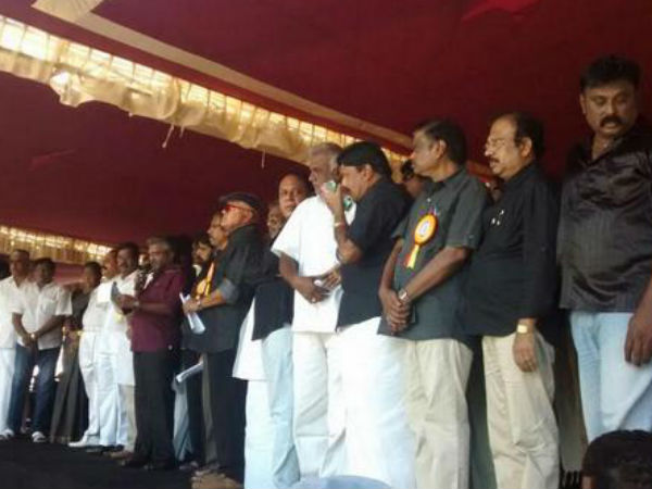 K-town Stands By Amma