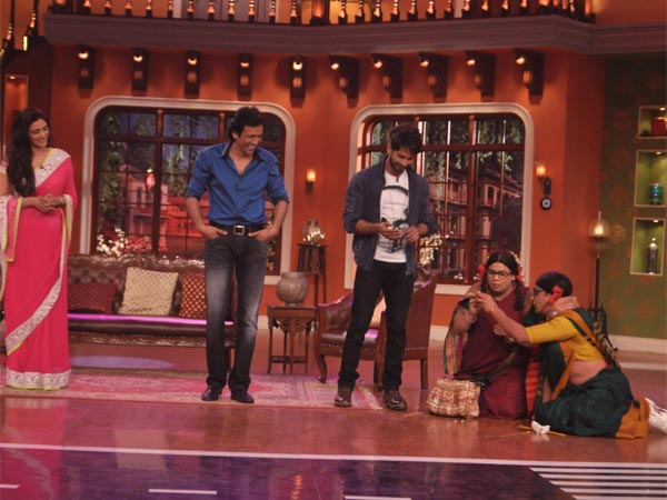 Shahid On Comedy Nights With Kapil
