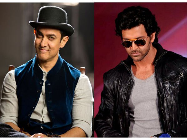 Hrithik Calls Aamir A Cheater, Plans To Punish Him