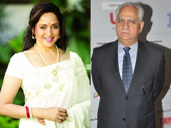 Hema Malini and Ramesh Sippy