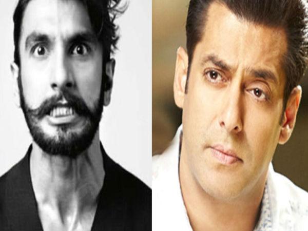 Salman Khan Loses His Next Film To Ranveer Singh - Filmibeat