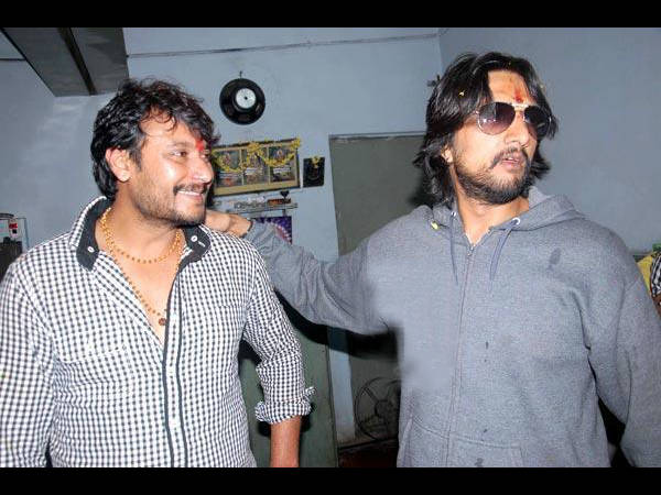 Sudeep And Darshan Deny News Of Rift