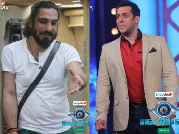 Bigg Boss 8: Praneet Bhatt Gets Salman Khan's Support And Is Safe Too!