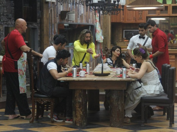 Arya Babbar's Foot-In-Mouth Moment In Bigg Boss 8!