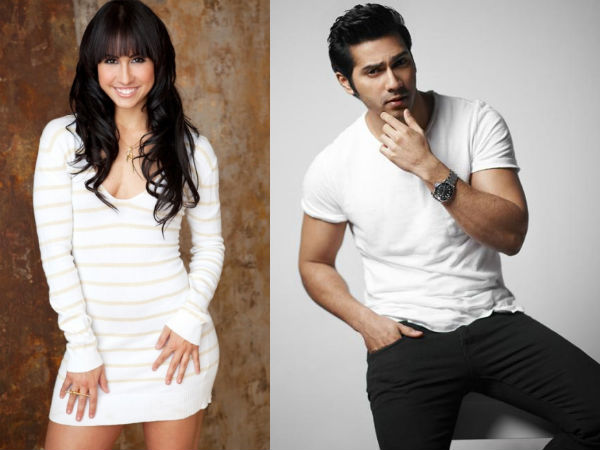 Lauren Gottleib and Varun Dhawan