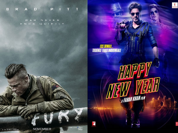 Tribute To Shahrukh : Brad Pitt's Fury Gets Dubbed As Fauji