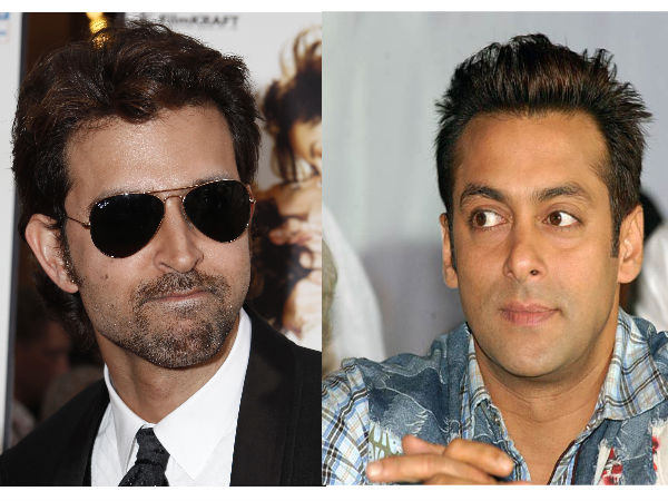Hrithik Roshan and Salman Khan