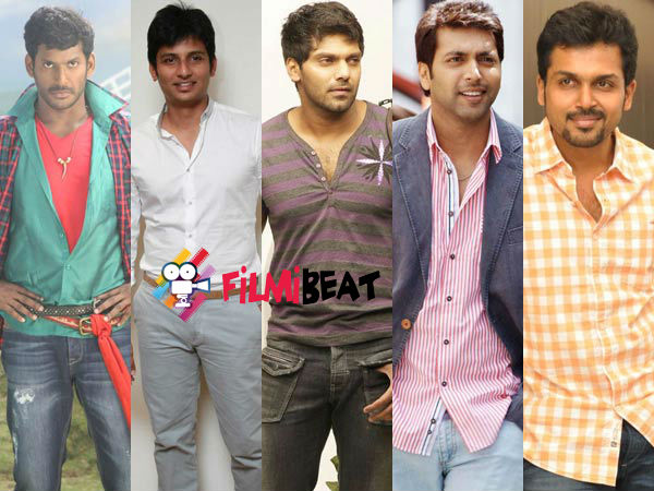 Vishal To Share Screen Space With His Competitors!