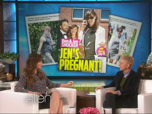 Jennifer Garner Is Not Pregnant, Has A Permanent Baby Bump!