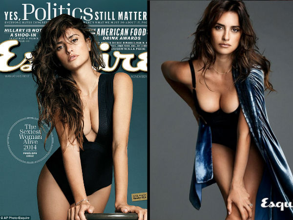 Penelope Cruz Titled 'Sexiest Woman Alive' By Esquire