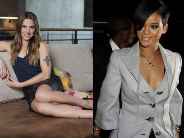Mel C Bans Daughter From Seeing Rihanna's Raunchy Pictures