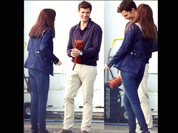 Pics fifty shades of grey cast reshoots in vancouver for Second 50 shades of grey