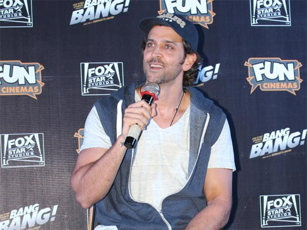 Hrithik Laughing