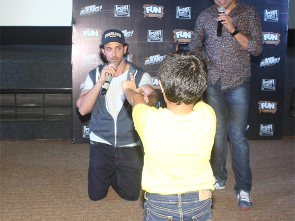 Kid Shooting At Hrithik