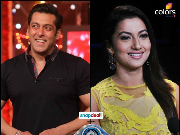 Gauhar Khan Back On Bigg Boss 8, Handcuffs Contestants!