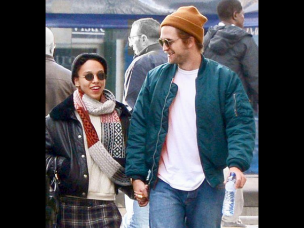 Robert Pattinson & FKA Twigs Caught Holding Hands!