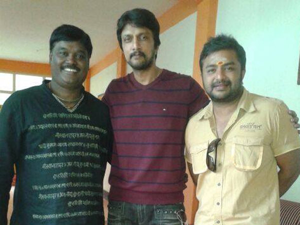 Sudeep Becomes A Narrator For Haggada Kone
