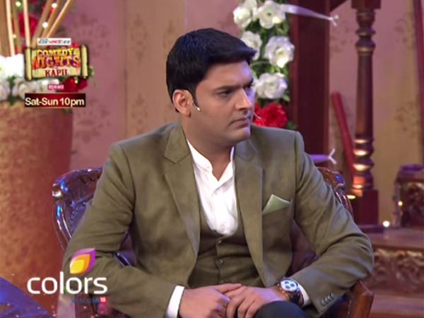 Kapil Played The Role