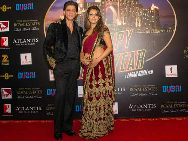 Shahrukh Khan With Gauri