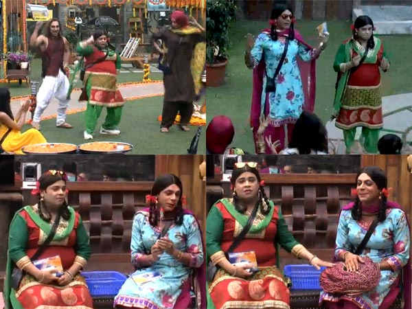 Comedy Time With Gutthi And Palak On Bigg Boss 8!