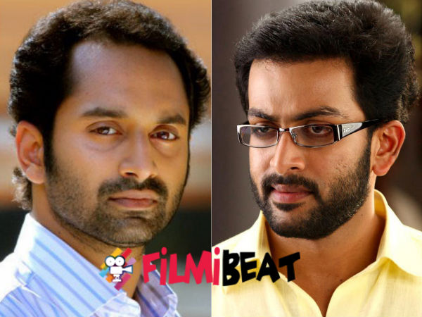 OMG! Fahadh Faasil And Prithviraj In Cold War?