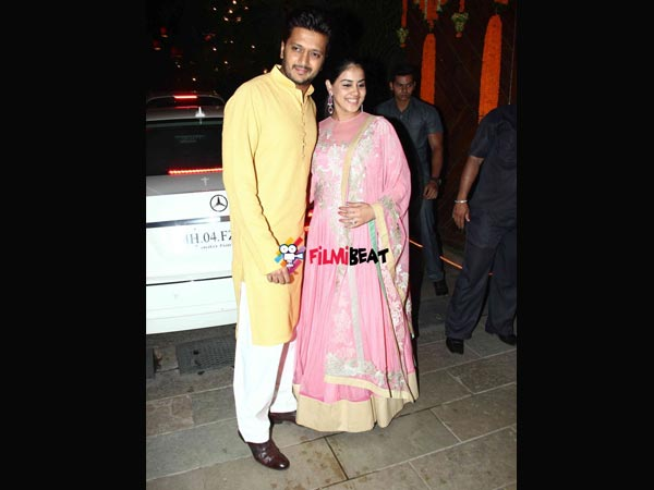 Riteish Deshmukh And Genelia