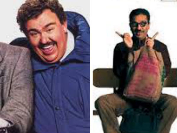 English : Planes, Trains and Automobiles (1987) Tamil : Anbe Sivam (2003)