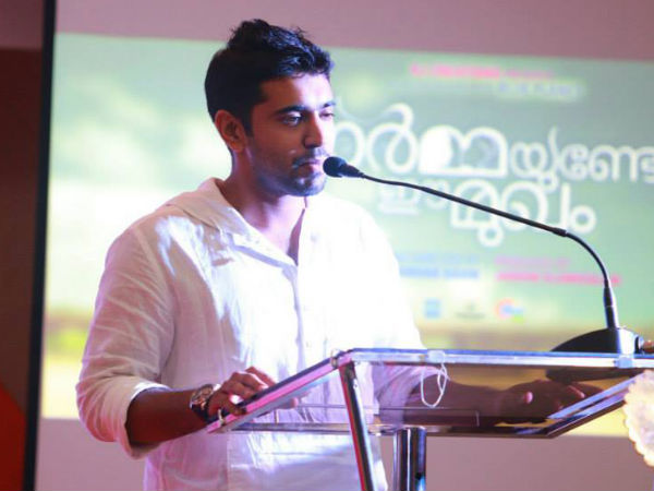 Nivin Pauly And Lal Launches 'Ormayundo Ee Mukham' Songs