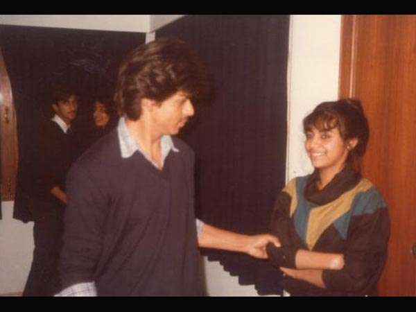 Shahrukh With Gauri