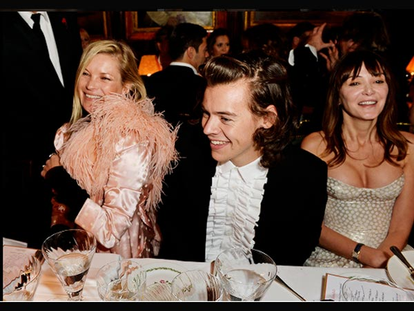 Harry Styles Spends A Nice Evening With Kate Moss!